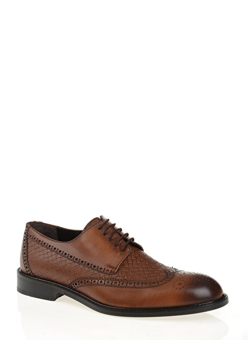 D by Divarese % 100 Deri Klasik Ayakkabı Taba